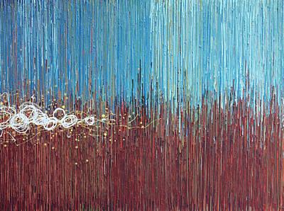 Windy Daze 1 Poster by Kate Tesch