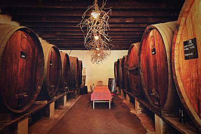 Wine Cellar Poster by Benjamin Matthijs