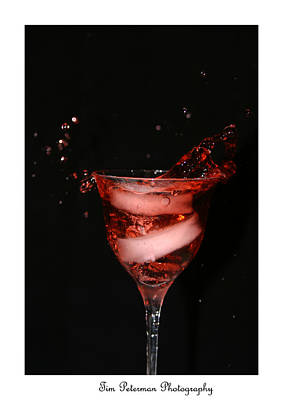 Wine Glass Poster by Tim Peterman