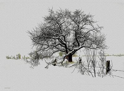Winter Sentinel Poster by Ron Jones
