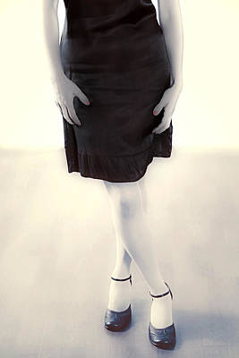 Woman In A Dress Poster by Joana Kruse