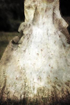 Woman In A Meadow Poster by Joana Kruse