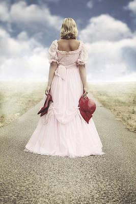 Woman On A Street Poster by Joana Kruse
