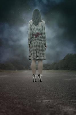 Woman On Street Poster by Joana Kruse