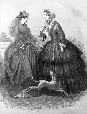 Womens Fashion, 1850 Poster by Granger