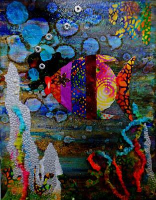 Wonders Of The Sea Poster by Heather Saulsbury