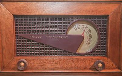 Wood Radio Poster by Matthew Bamberg