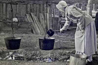 Working Girl Poster by Joann Vitali
