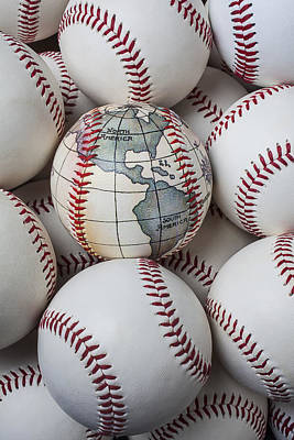 World Baseball Poster by Garry Gay