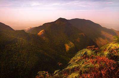Worlds End. Horton Plains National Park I. Sri Lanka Poster by Jenny Rainbow