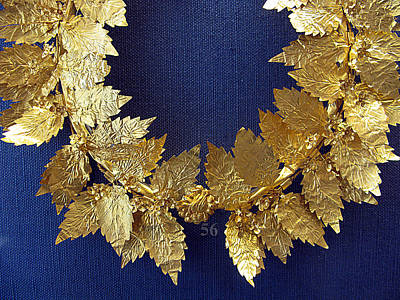 Wreath Oak-leaves Poster by Andonis Katanos