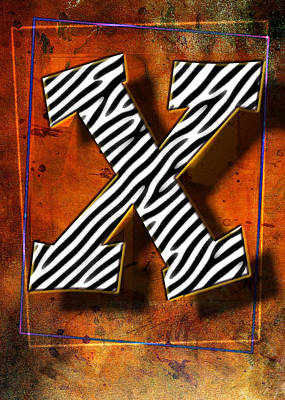 X Poster by Mauro Celotti