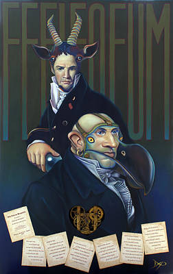 Yak Andrew Bienstjalk Poster by Patrick Anthony Pierson
