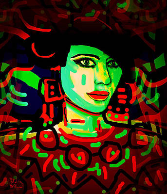 Yoko Poster by Natalie Holland