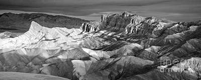 Zabriskie Point Panorama Poster by Jim Chamberlain