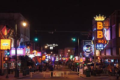 Beale Street, Memphis, Tn Poster by Art Spectrum
