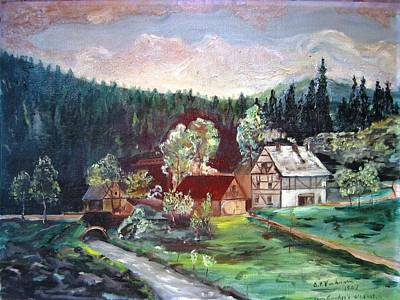 Black Forest Germany Poster by Alfred P  Verhoeven