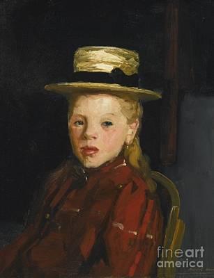 Dutch Girl Poster by Robert Henri