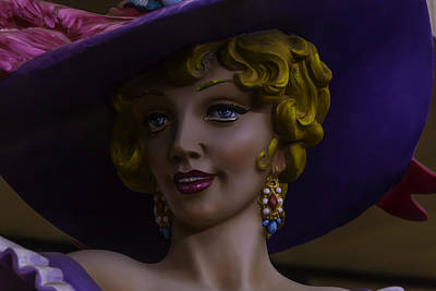 Mardi Gras Woman Poster by Garry Gay