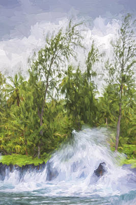 Violent Waters II Poster by Jon Glaser