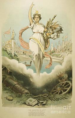 Atlanta Exposition, 1895 Poster by Granger