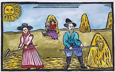 Love Among Haystacks Poster by Granger