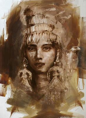 006 Kazakhstan Culture Poster by Mahnoor Shah