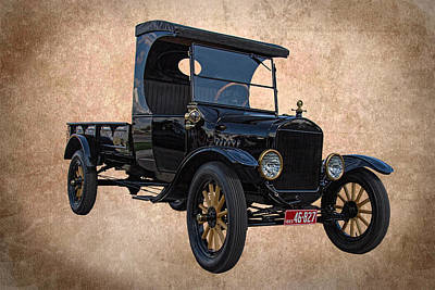 1923 Ford Model T Truck Poster by Nick Gray