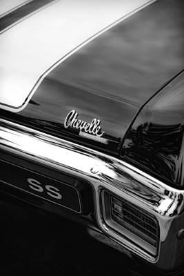 1970 Chevrolet Chevelle Ss 396 Poster by Gordon Dean II