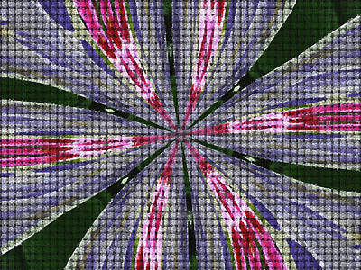 Abstract By Paint Pro   # 24 Poster by Allen Beatty