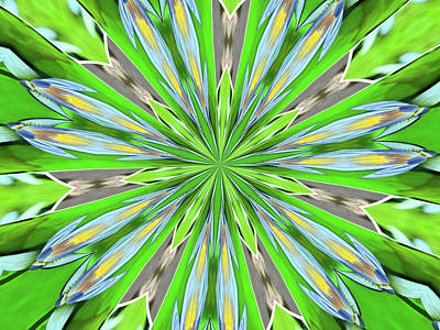 Abstract By Paint Pro   # 26 Poster by Allen Beatty