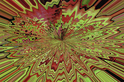 Abstract By Photoshop 31 Poster by Allen Beatty
