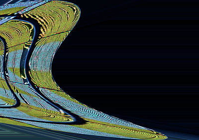 Abstract By Photoshop 32 Poster by Allen Beatty