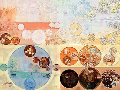 Abstract Painting - Bone Poster by Vitaliy Gladkiy