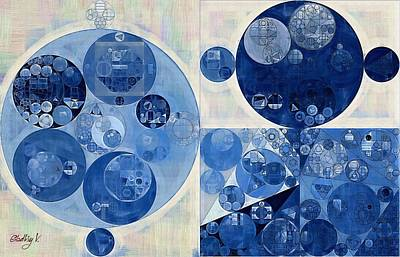 Abstract Painting - Geyser Poster by Vitaliy Gladkiy