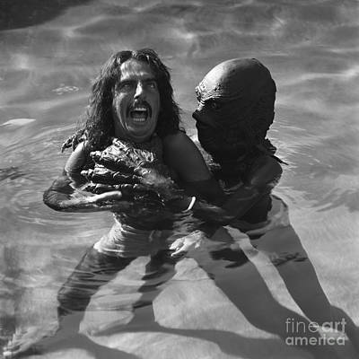 Alice Cooper Poster by Terry O'Neill