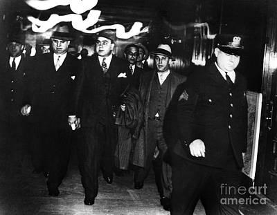 Alphonse Capone (1899-1947) Poster by Granger