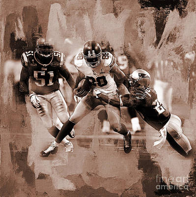 American Football 02 Poster by Gull G