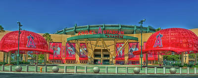 Angel Stadium Poster by Mountain Dreams