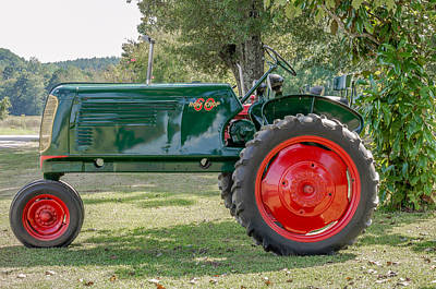 Antique Tractor. Poster by Rommel Stribling