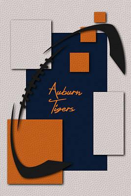 Auburn Tigers Poster by Joe Hamilton