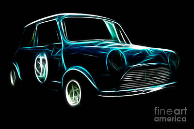 Austin Cooper Poster by Wingsdomain Art and Photography