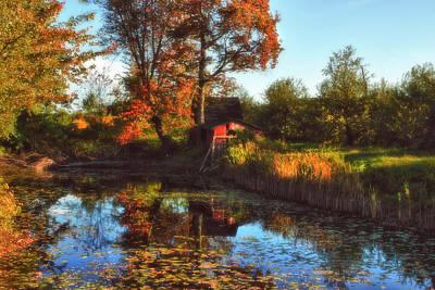 Autumn Palette Poster by Joann Vitali
