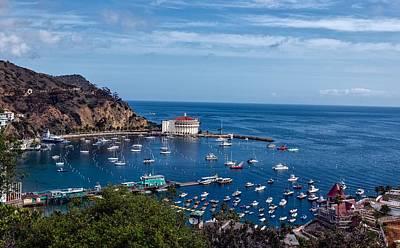 Avalon Harbor - Catalina Island Poster by Mountain Dreams