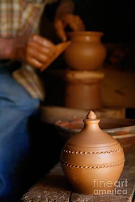 Azores Islands Pottery Poster by Gaspar Avila