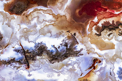 Backlit Agate Poster by Jean Noren
