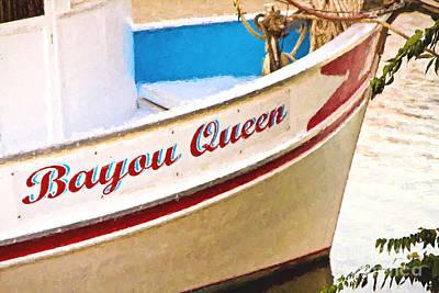 Bayou Queen Poster by Scott Pellegrin