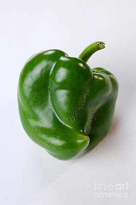 Bell Pepper Poster by Sean Griffin