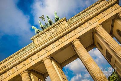 Berlin Brandenburg Gate Poster by JR Photography