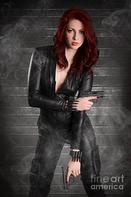 Black Widow Poster by Jt PhotoDesign